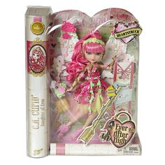 Ever After High Heart struck C.A Cupid In Box