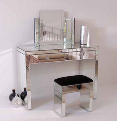 My-Furniture - Coiffeuse APHRODITE en miroir style Vénitien: Amazon.fr: Cuisine & Maison