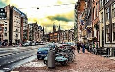 amsterdam street hdr