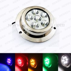 275.00$  Watch here - http://ali9pc.worldwells.pw/go.php?t=2055012526 - New 18W White blue green red amber Underwater LED Light Outdoor Waterproof Swimming Pool Pond Fountain Landscape Lamp