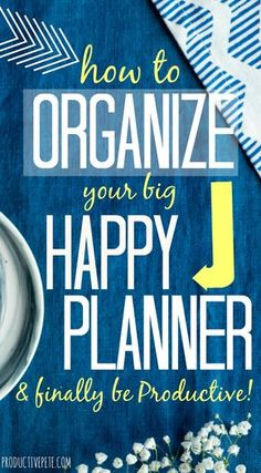 How to set up your Planner to Stay Organized – Productive Pete Looking for ideas on how to best use your Big Happy Planner? Take a peek at this Happy Planner organizational method to knock out your to-do lists and be more productive! Planner Layout, Planner Pages, Weekly Planner, Life Planner, Printable Planner, Planner Stickers, Planner Ideas, Printables, 2015 Planner