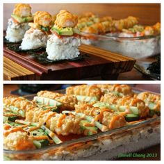 sushi casserole