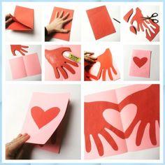 Kids Crafts thanksgiving diy crafts for kids Valentine's Day Crafts For Kids, Valentine Crafts For Kids, Valentines Diy, Holiday Crafts, Kids Diy, Valentines Crafts For Kindergarten, Kids Fathers Day Crafts, Halloween Crafts, Diy Valentine's Day For Him