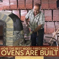 The handmadePortuguese brick pizza ovensare the best wood fired ovens. This videoshows exactly what goes into building these beautiful and authentichand-crafted wood fired brick ovens from Authentic Pizza Ovens.