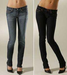 Turn Old Jeans into Skinny Jeans: http://www.threadbanger.com... what a wonderful idea!