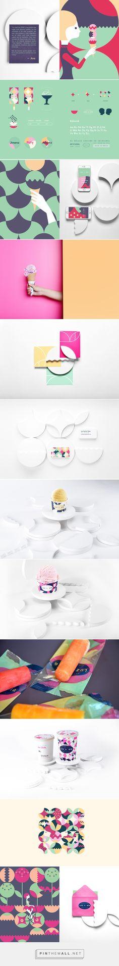 La luz del Día / ice cream by Estudio Yeyé