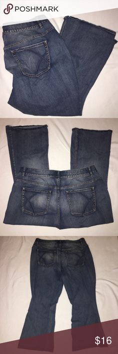 56376d7b710c9 Lane Bryant 26 Short High Rise Boot Jeans Tighter Lane Bryant Womens 26  Short High Rise Boot Jeans Tighter Tummy Technology. Waist flat is 22""