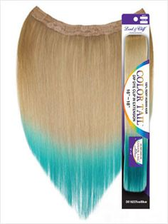 """""""Color Tail"""" - 16""""~18"""" Ombre Remy Clip-In By Lord & Cliff"""