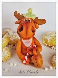 Kate Plumcake - Sugar Art & more                      : Renne divertenti - Funny reindeers