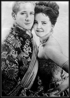 Snowing at the ball by KatBjorky on deviantART ~ Snow White & Prince Charming of Once Upon a Time