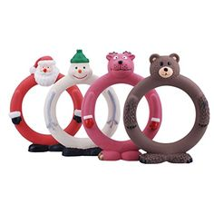 """Mpets 6.5"""" Latex Loops Christmas Squeaky Dog Toy, Safe for Any Dogs, 4-Pack (4-Pack) http://dogpoundspot.com/wp-content/uploads/2015/11/41XK6-98i4L.jpg The christmas dog toys are durable and non-toxic. They are designed to provide hours of fun and    Read  more http://dogpoundspot.com/mpets-6-5-latex-loops-christmas-squeaky-dog-toy-safe-for-any-dogs-4-pack-4-pack/"""