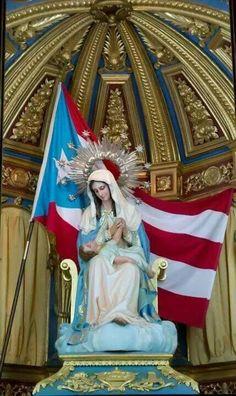 Virgen de la divina providencia. en Puerto Rico.
