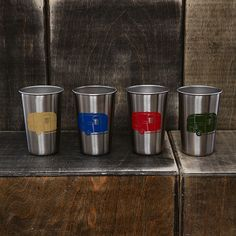 The perfect barware for your Airstream trailer: http://airstreambrands.com/collections/merchandise/products/airstream-stainless-steel-pint-4-pack