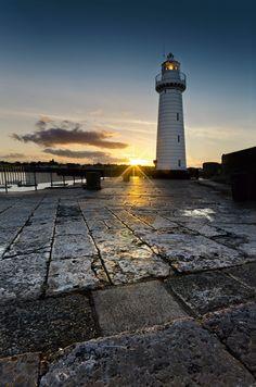 Donaghadee Lighthouse Down, Northern Ireland  Copyright: Nigel Jamison