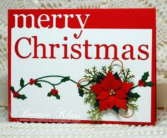 Stamping with Klass: Merry Christmas for Merry Monday