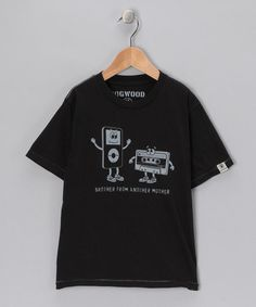 Save Now on this Dogwood Black 'Brother From Another' Tee - Toddler & Boys by Playroom to Playground: Boys' Apparel on #zulily today!