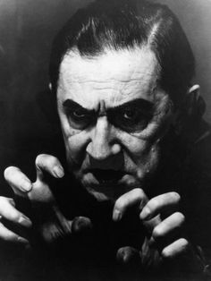 Bela Lugosi-Dracula- This, ladies and gents, was my very first Vampire crush. That's when my love for vampires started.Edward's great, but he doesn't have compelling eyes. Lugosi Dracula, Hollywood Monsters, The Frankenstein, Horror Monsters, Frankenstein's Monster, Famous Monsters, Classic Horror Movies, Classic Monsters, Witches