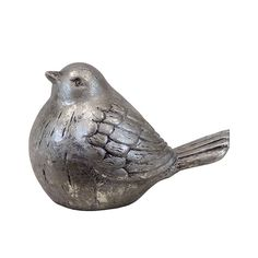 Urban Trends Ceramic Bird Weathered Finish White & Reviews | Wayfair