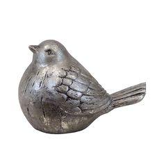 Urban Trends Ceramic Bird Weathered Finish White & Reviews | Wayfair