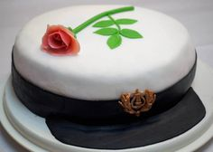 Graduation cake | by crissis_2000 Panna Cotta, Cake Decorating, Birthday Cake, Graduation Cake, Ethnic Recipes, Desserts, Decorations, Cakes, Food