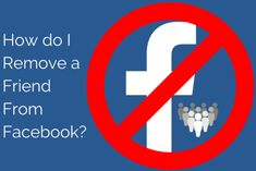 How To Remove Friends From Facebook Friends List, How To Remove, Facebook, Reading, Word Reading, Reading Books, Libros