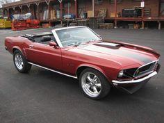 69 Mustang Rag Top