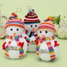 Christmas Xmas Hanging Decoration Snowman Wall Dorr Christmas Tree Decoration ** This is an Amazon Affiliate link. Visit the image link more details.