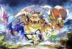 Super Smash Bros Game, Nintendo Super Smash Bros, Video Games Funny, Funny Games, Nintendo Characters, Nintendo Games, Pokemon Memes, Cartoon Crossovers, Anime Fantasy