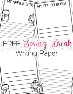 A Cute Writing Paper To Help Your Students Publish Their Work