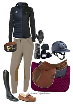 """""""rootd today (almost)"""" by a-circuit-equestrian on Polyvore featuring UGG, Hermès, TC Fine Intimates, NIKE, Parlanti and rootd"""