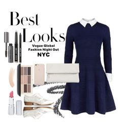 """""""Untitled #17"""" by lauralionels ❤ liked on Polyvore featuring MML, Alice + Olivia, Whistles, H&M, Bobbi Brown Cosmetics, HoneyBee Gardens and Topshop"""