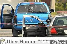 While on the hunt for an ex-cop, Police in LA shot two unarmed Asian women who were delivering newspapers.. Here is a picture of the truck the women were in
