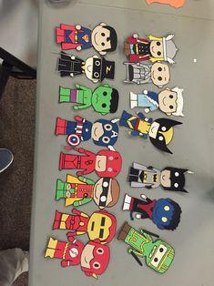 Superhero door tags!
