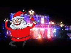 Crazy Ass Christmas Lights in Sydney, Australia - YouTube