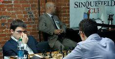 Le Français Maxime Vachier-Lagrave en grosse difficulté - Capture d'écran © Chess & Strategy