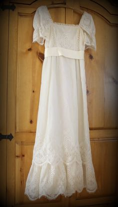 SALE Save 50 Vintage Designer Lorrie Deb Lace by Digvintageshop, $98.00. omg I wish this was my size