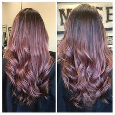 Image result for chocolate mauve balayage trend
