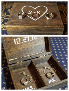 DIY ring bearer box. Super Easy