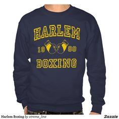 Harlem #Boxing Pullover Sweatshirt. #NYC  #Clothing #Zazzle