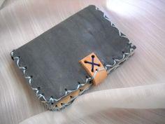 Portafogli pocket wallet artigianale vera pelle di robafattamman
