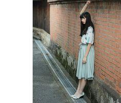 小松菜奈さん西二見古民家周辺で撮影