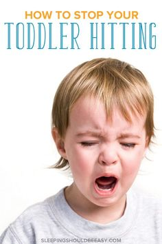 Effective tips on what to do when your toddler hits other children or even yourself. Even though hitting is normal for kids this age, dealing with it can be tough for even the most patient mom. Don't worry—this article covers exactly what to do, from the steps to take when your toddler hits to alternatives she can do instead. Click here to get tips and ideas on how to get your #toddler to stop hitting others. #toddlerlife