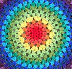 Revisiting the Granny Mandala…. | Crochet with Raymond  - mandala tutorial