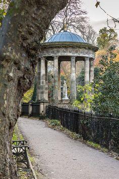 The beautiful St Bernard's Well in Dean Gardens in Edinburgh, Scotland. #edinburgh #scotland #uk #architecture