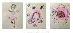 7-vuotiaan esikoululaisen piirustuksia - Drawings of a 7-year-old pre-schooler
