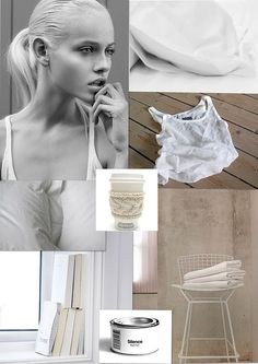 My winter holiday crispy white moodboard