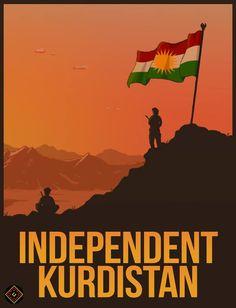 Independent Kurdistan. #Kurdistan #Kurd #Peshmarga