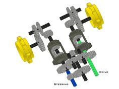 lego tracked differential steering - Google Search