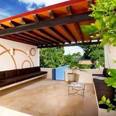 Terraza Planta Alta: Terrazas de estilo  por Taller Estilo Arquitectura #terrazaplantas