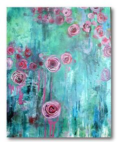 Look at this Hanging Rose I Gallery-Wrapped Canvas on #zulily today!